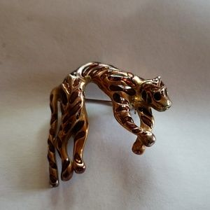 Vintage PANTHER brooch